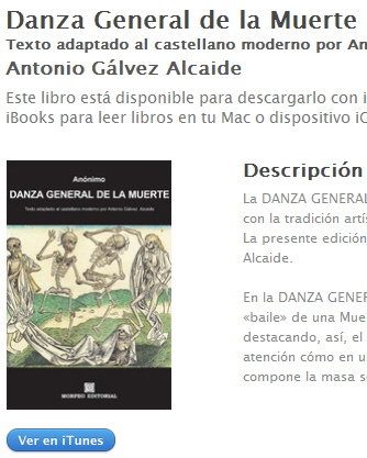 Ebook Danza General de la Muerte, traducido al castellano actual, en iBookstore