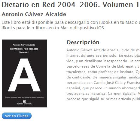 Ebook Dietario en Red 2004-2006. Volumen 1, de Antonio Gálvez Alcaide, en ibookstore