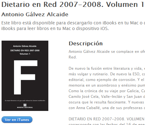 Ebook Dietario en Red 2007-2008. Volumen 1, en iBookstore