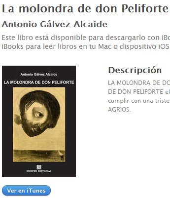 Ebook La molondra de don Peliforte, de Antonio Gálvez Alcaide