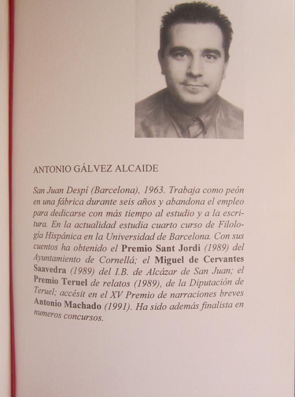 Antonio Gálvez Alcaide en 1993