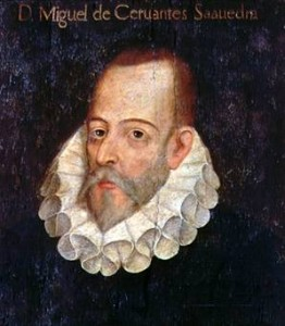 Presumible retrato de Cervantes