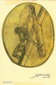 Cristo crucificado, de san Juan de la Cruz (siglo XVI)
