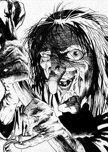 Una mala bruja, en cómic