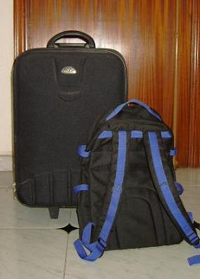 Mi maleta y mi mochila