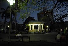 Plaza nocturna