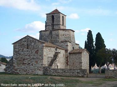 Ermita de Santa María del Puig, en Esparraguera