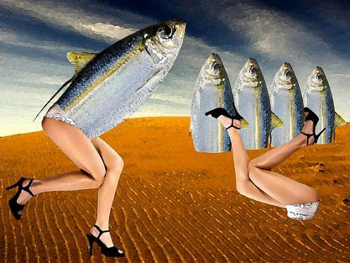 Las sardinas como condumio que lleva a la mujer en Josep Pla